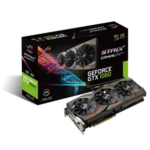 ASUS ROG STRIX GTX 1060 GAMING GAMING OC 6 GB
