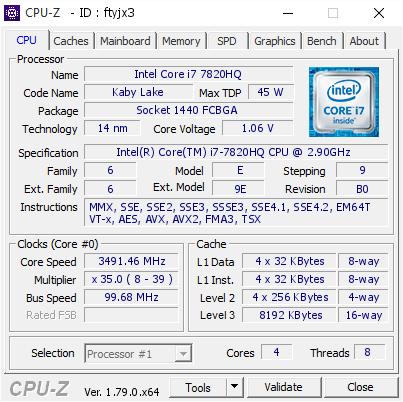 Hiệu năng laptop Dell Precision 7520