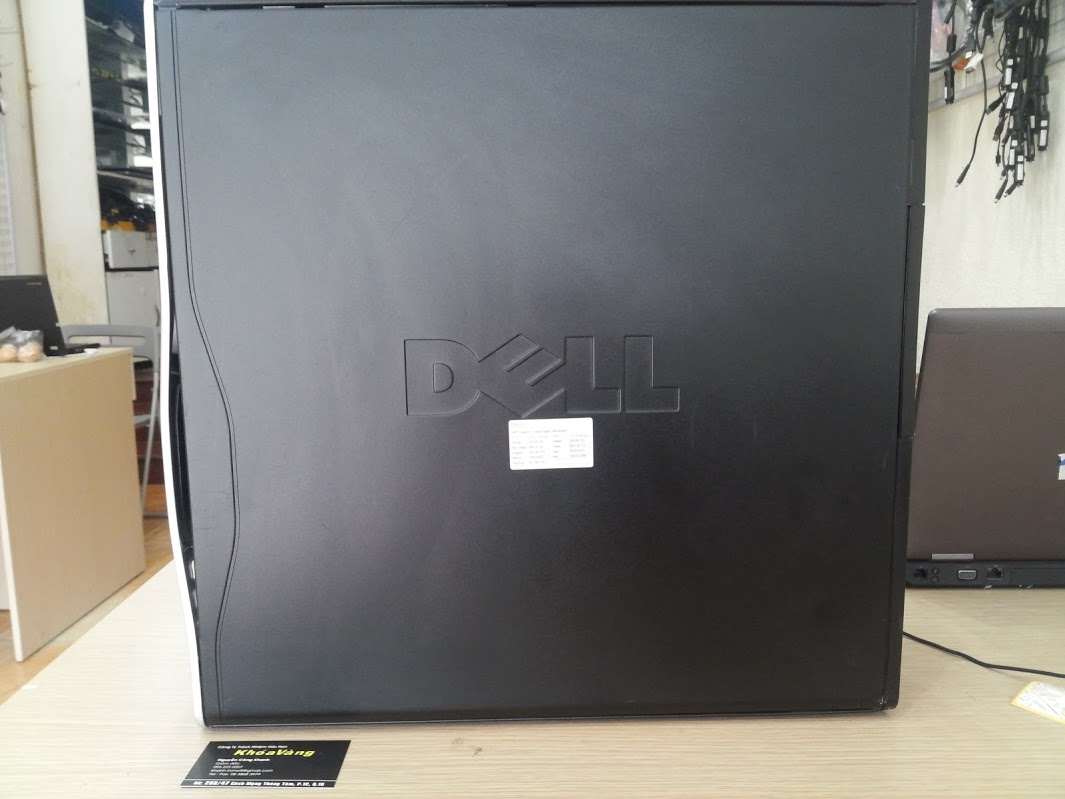 Dell Precision T3500 Workstation   Khóa Vàng