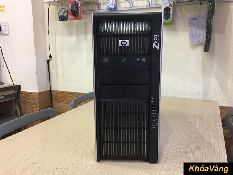 HP Z800 Workstation | Khóa Vàng